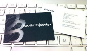 Two Thirds Design New Business Cards