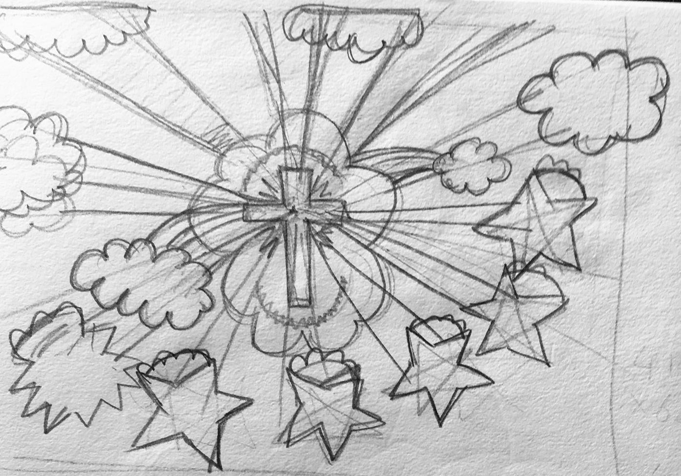 Faith Display Sketch