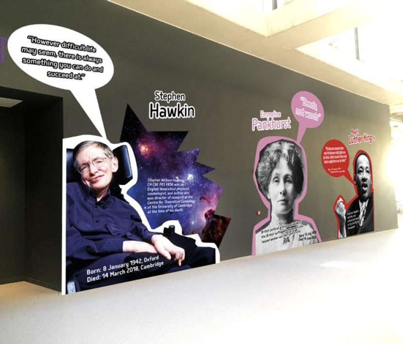 Influential People Vinyl Display