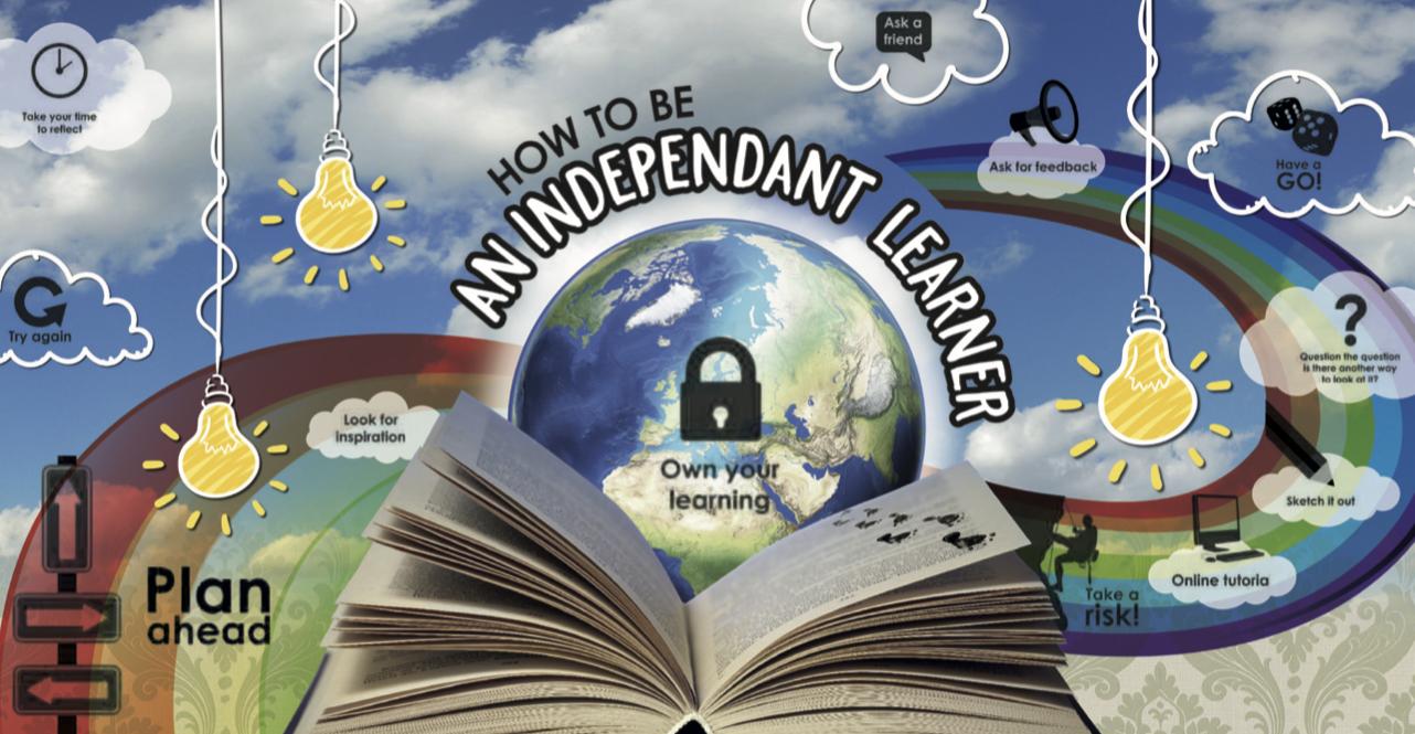 Independent Learner Display Idea School PrimaryBoard
